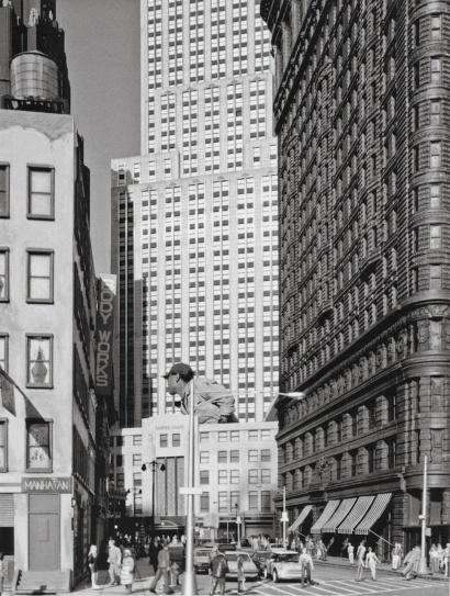 Naoya Hatakeyama: New York / Tobu World Square (from Scales), 2003 - 2004