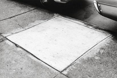 Ellsworth Kelly: Sidewalk, New York City, 1970