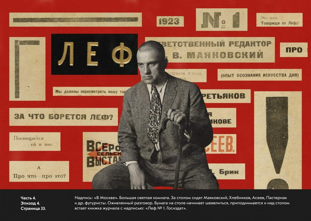 Alexei Kruchenykh<br>The Birth and Death of Lef