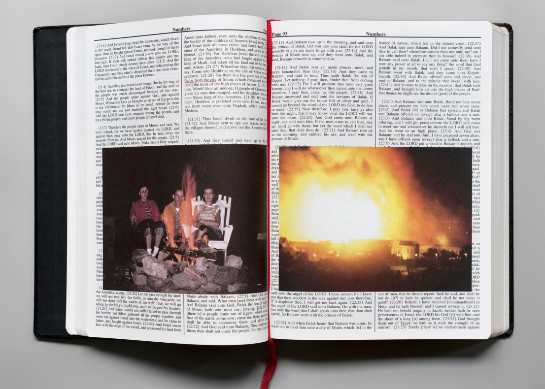 Adam Broomberg, Oliver Chanarin<br>Holy Bible