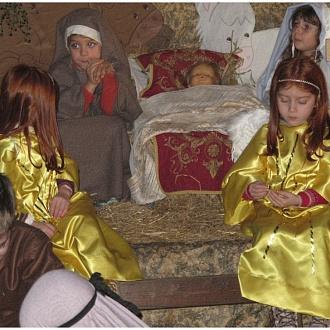 Presepe Scuola Materna Le Grazie Nuoro - Natale 2013