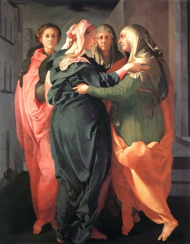 Pontormo, Visitazione, 1528-1530