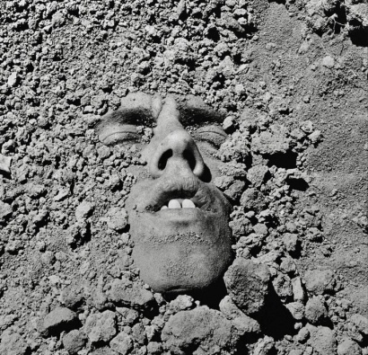 David Wojnarowicz:  Untitled (Face in Dirt), 1990