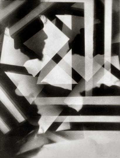 Alvin Langdon Coburn: Vortograph of Ezra Pound, 1917