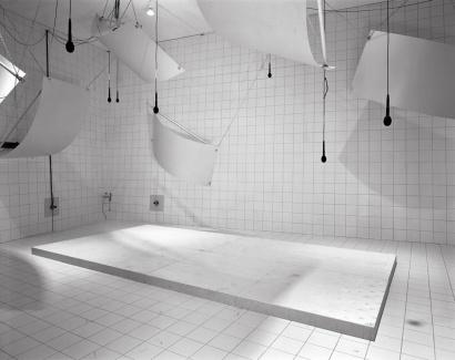 Lynne Cohen: Laboratory (Microphones), 1999