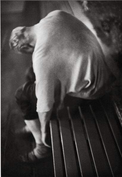 Louis Stettner: Night at Times Square, New York, 2002