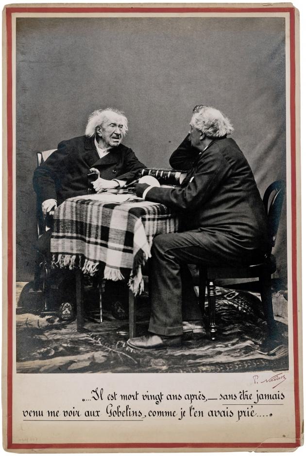 Nadar: Interview avec Eugene Chevreuil, 1886