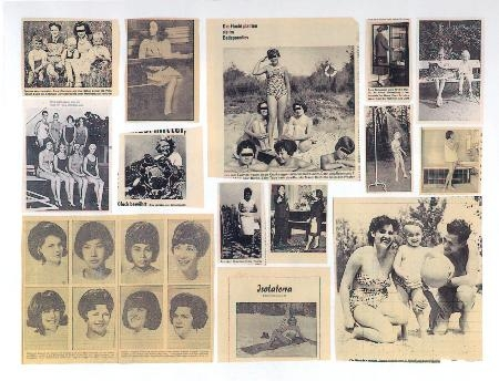 Gerhard Richter -  Zeitungsfotos Newspaper photos, 1962  (Atlas Sheet - 8)