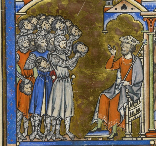 The Morgan Library & Museum - The Crusader Bible (c. 1240)