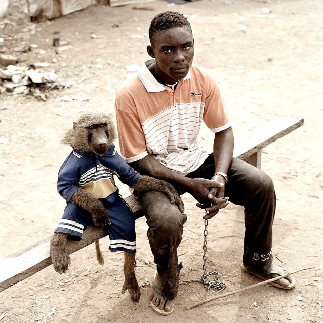 Pieter Hugo - The Hyena & Other Men - I'm not that chained-up little person