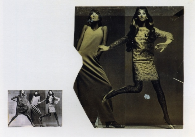 Gerhard Richter - Zeitungsfotos Newspaper photographs (1969) - Kept trying hard to mend the pieces