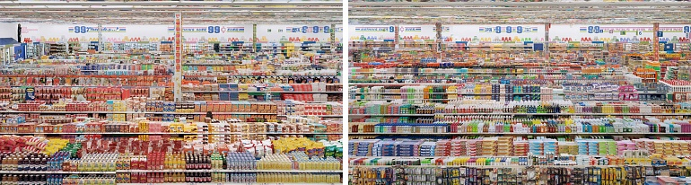 Andreas Gursky - 99 Cent, 2001