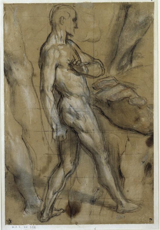 "Federigo Barocci (1528/1535 ? 1612) - Study for ""Noli me Tangere"""