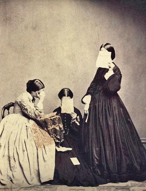 Unkonwn Photographer: Portrait of three women, 19th Century