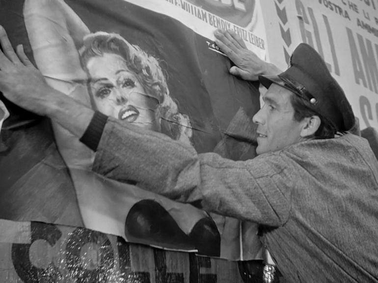 "Vittorio De Sica - Ladri di Biciclette (1948) - ""The time is ripe for throwing away scripts and following men with the camera"" (Zavattini, 1979)"
